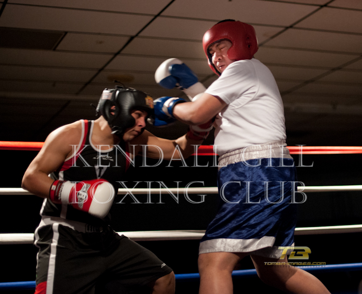 Fight Night at the Kendall Gill Boxing Club