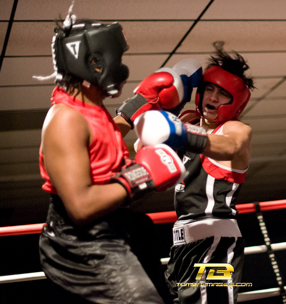 """Fight Night"" at the Kendall Gill boxing Club"