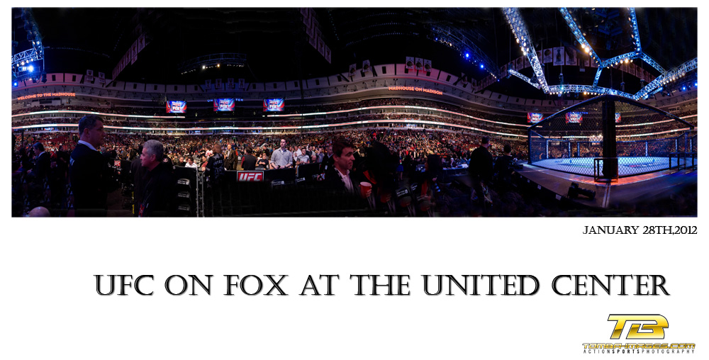 UFC on Fox at the United Center