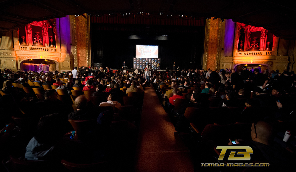 UFC Weight-In's at the Chicago Theater
