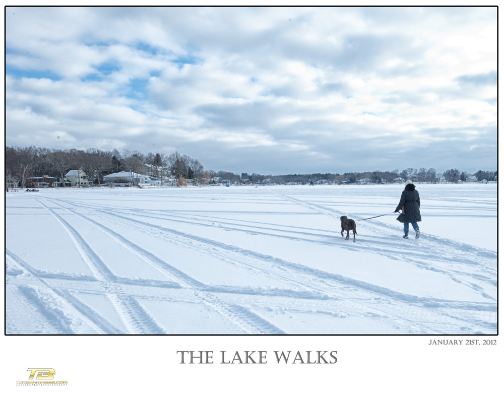 A walk on the Lake ..