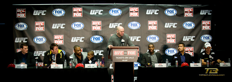 UFC Press Conference at the United Center