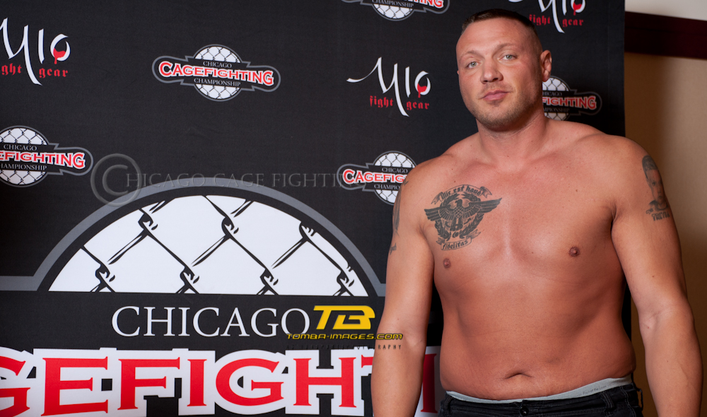 Chicago Cage Fighting Championships Weight In at Eaglewood Resort