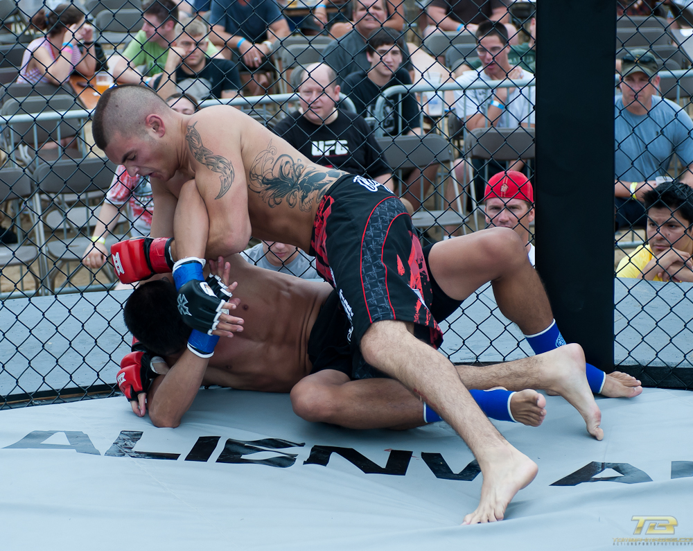 "XFO 41 Outdoor Wars 7 Amatuer matches on ""Fight night'"