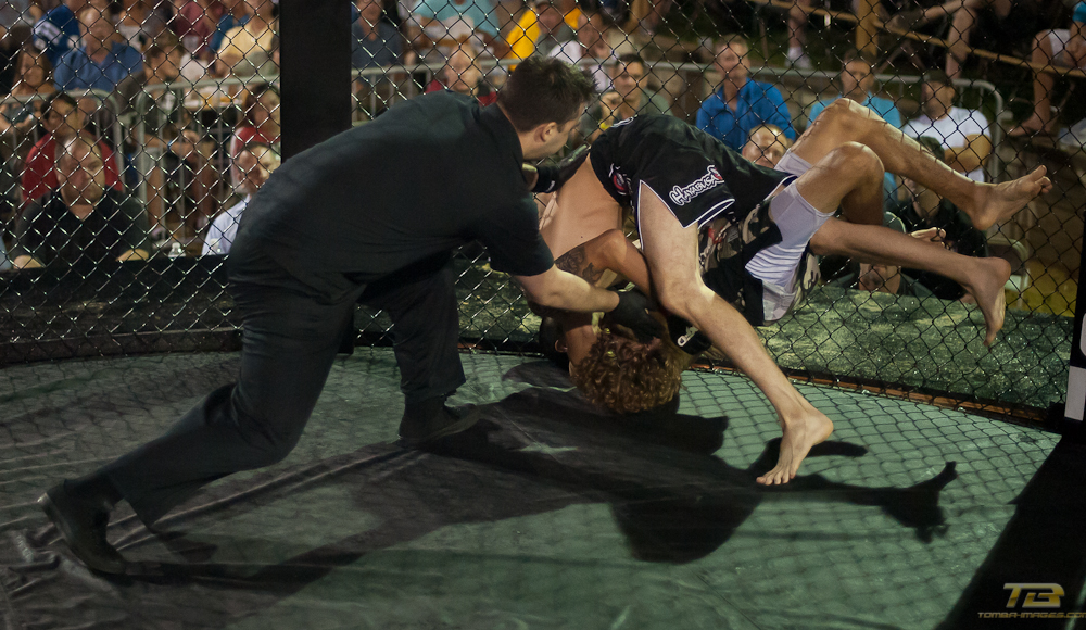 Casey Dyer vs Daniel Aguirre at XFO Outdoor War 7