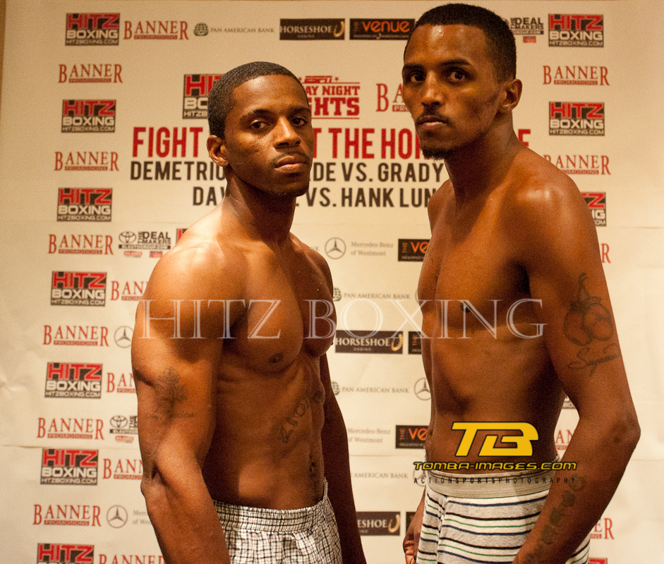 "Hitz Boxing presents ""Fight Night at The Horseshoe"""