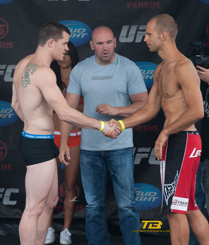 "UFC in Milwaukee ""weigh in"" part two"