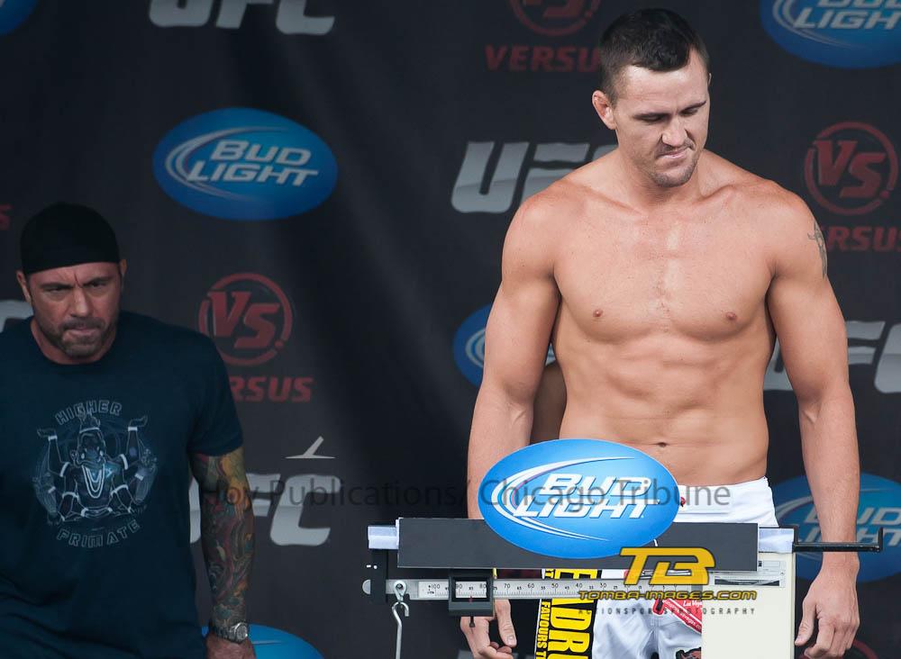 UFC in Milwaukee Weight In's