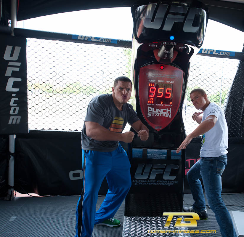 "Playing with the UFC ""big boys"" in Milwaukee"