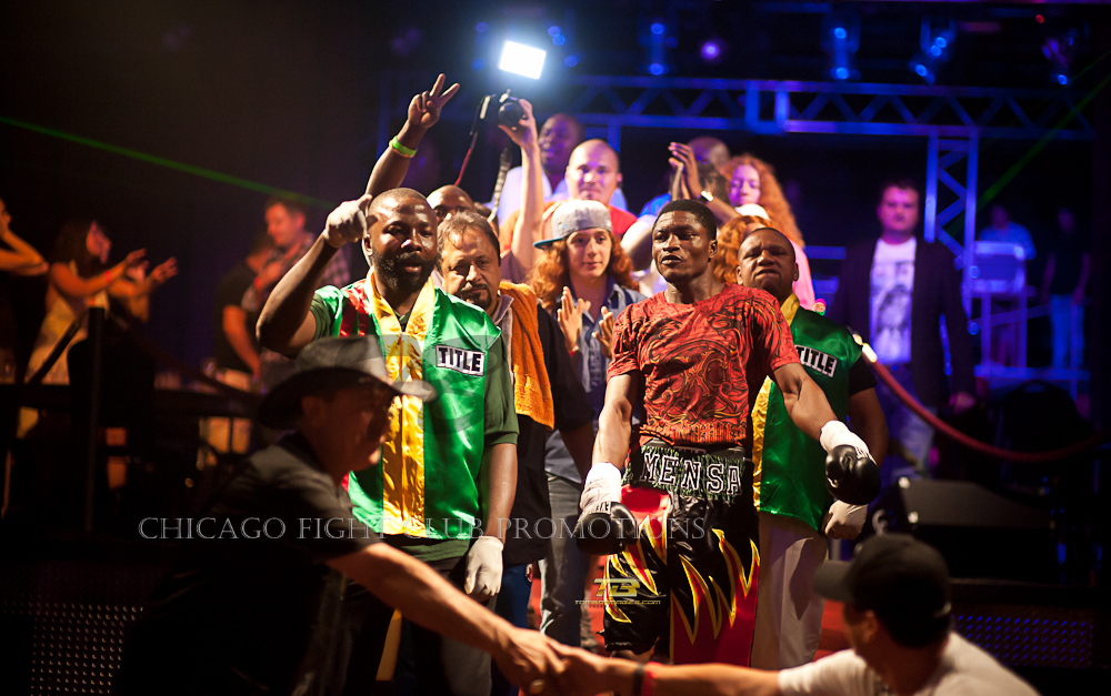 Chicago Fight Card Promotions presents