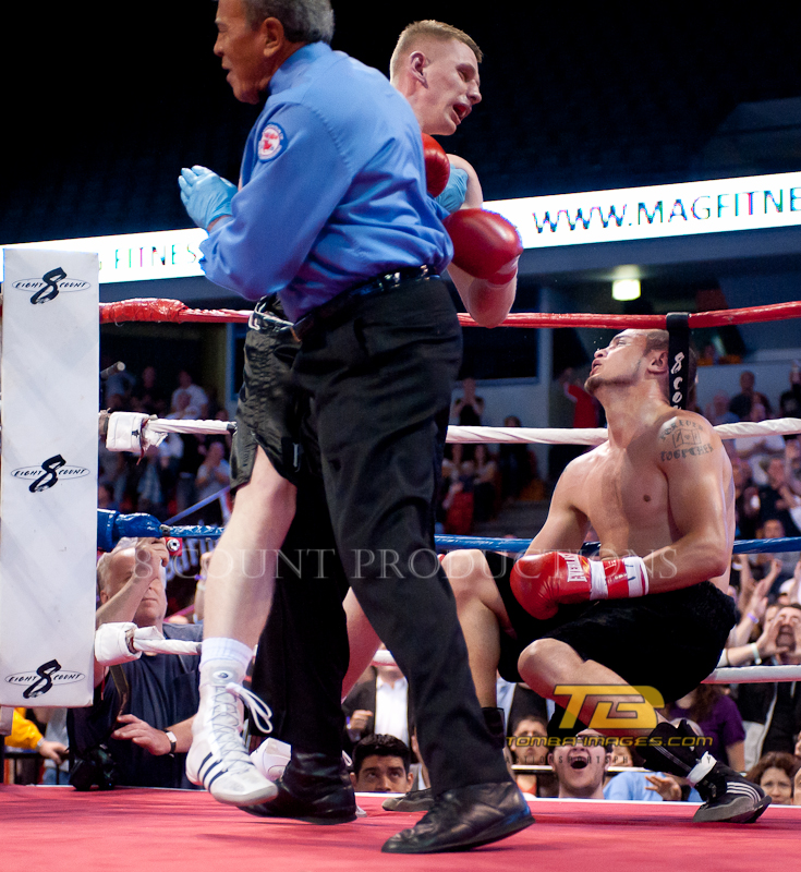 """8 Count Productions present """"Windy City Fight Night #17"""" Professional Boxing at the UIC Pavillion, Chicago IL onMay 20th, 2011.      To view all matches Photo Galleries, please visit  www.tomba-images.com    Cheers ........."""