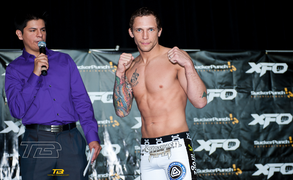 XFO # 39 Weight-In