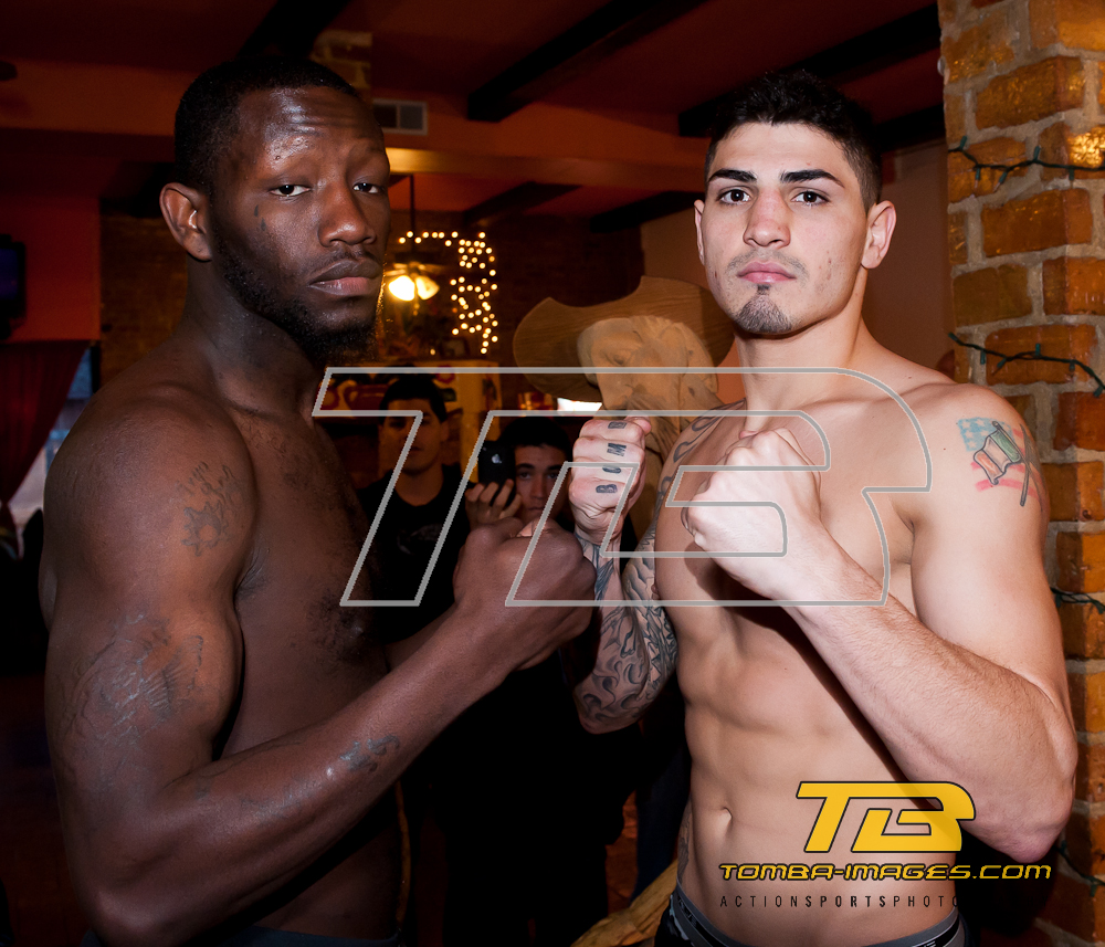 8 Count Productions Windy City Fight Night 16 Weight In March 31st