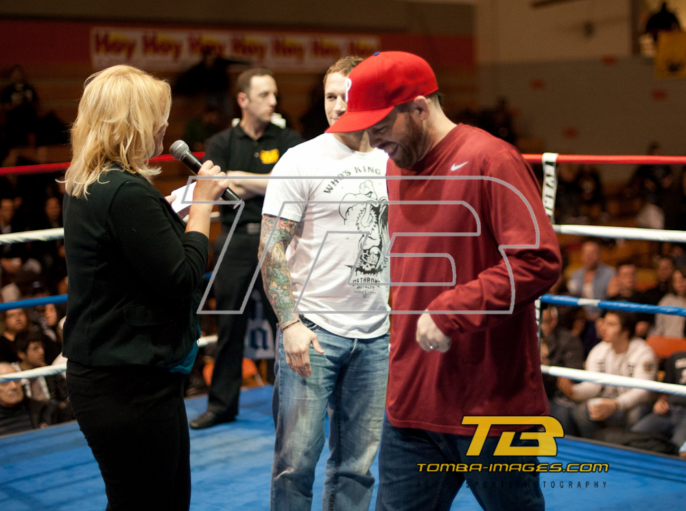 MMA Hero's and Legends visiting the Chicago Golden Gloves