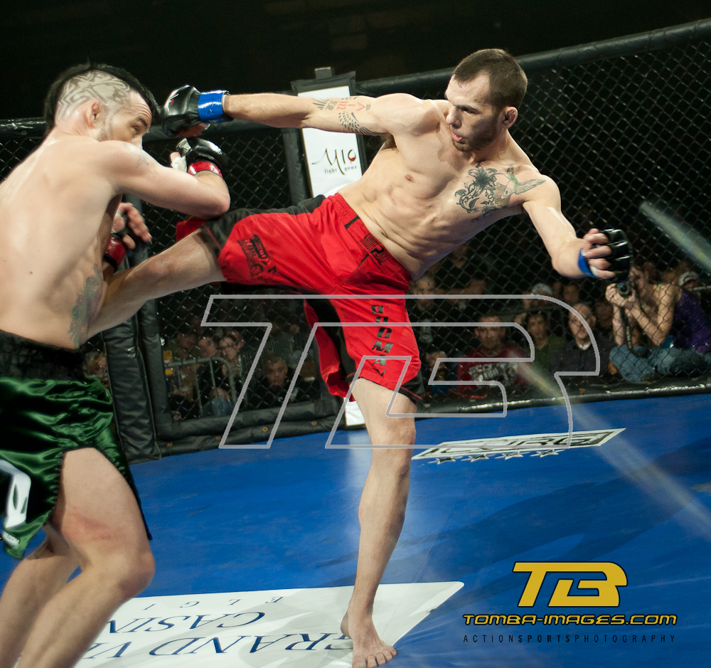 Chicago Cagefighting Championships MMA Professional Matches at The Odeum Expo Center March 5th,2011