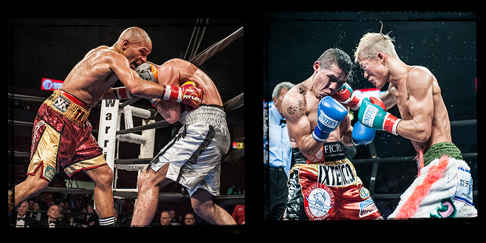 "Couple of the "" Big Hits"" of the Night                    Caleb M. Truax vs Christopher Sigmon                   Alejandro Hernandez vs Tomoki Kameda"