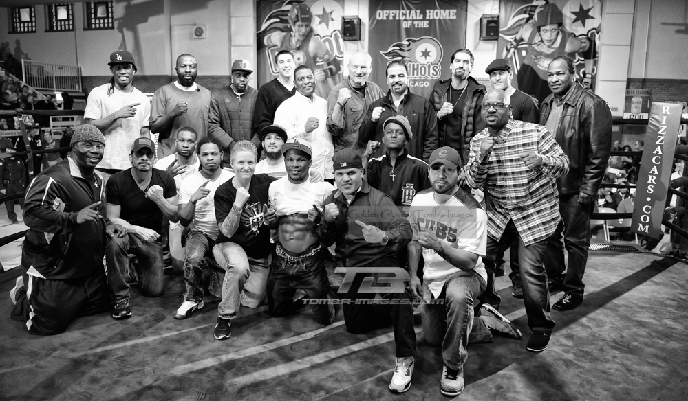 "Chicago Boxers Past and Present             16"" x 20"" limited edition print available     Click on image to view in a lighbox"
