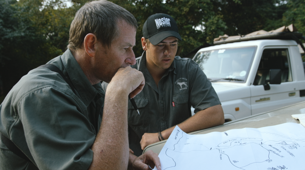 Craig Vind,  manager anti-poaching activities.