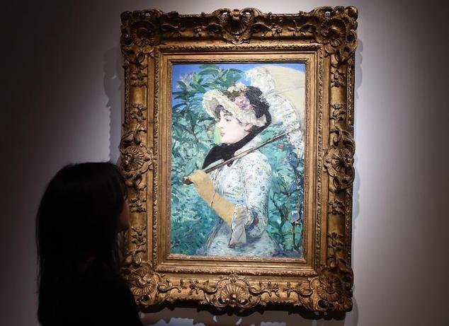 Le Printemps 1881 |Édouard Manet, initiateur du Salon des Refusés 1863 Salon des Refusés : cliquez ici : CLICK Oeuvre vendue à New York65 Million de dollarsen 2014 : CLICK