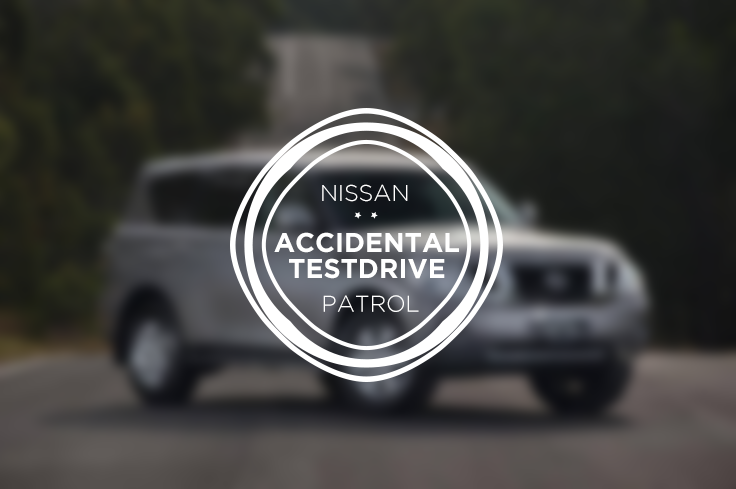 Nissan Patrol - Accidental Testdrive