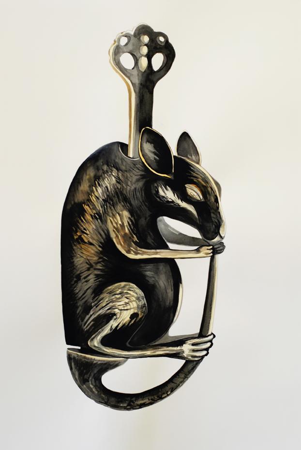 Rat lock,  2010.