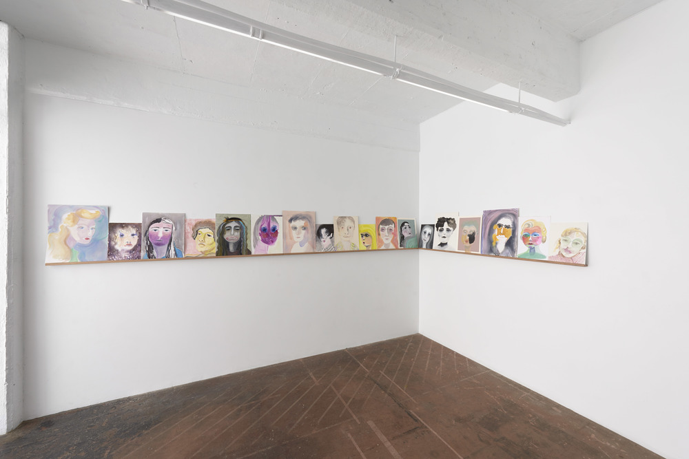 Portrait of a Sunday Painter, installation view.