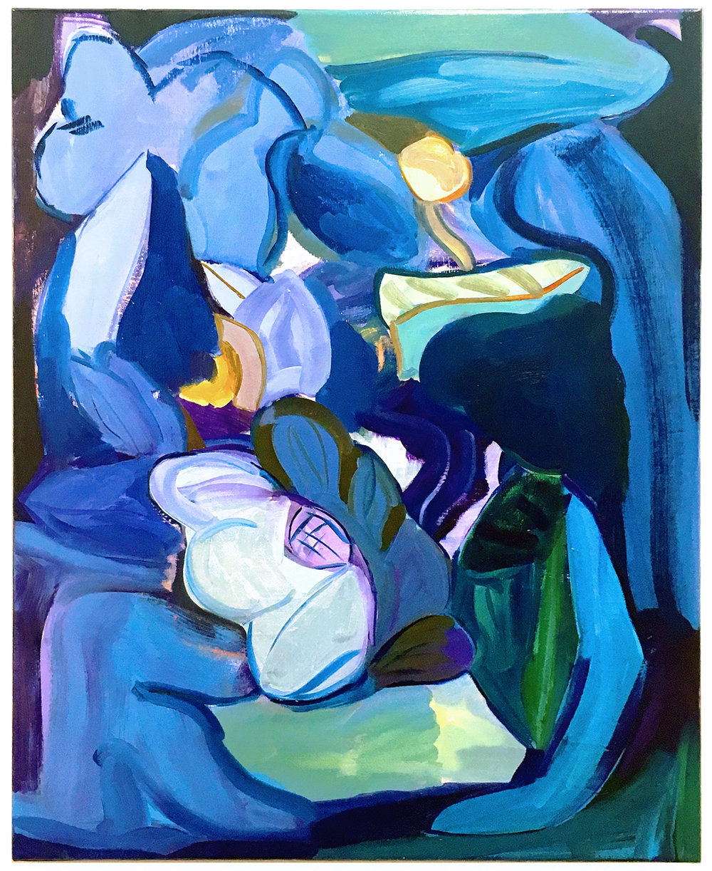 'Dumbo Garland (blue)', 2016