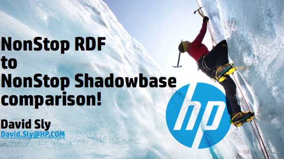 RDF Vs Shadowbase - HP - David Sly