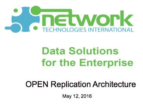 Synchronizing NonStop data with Oracle - Jim McFadden, NTI