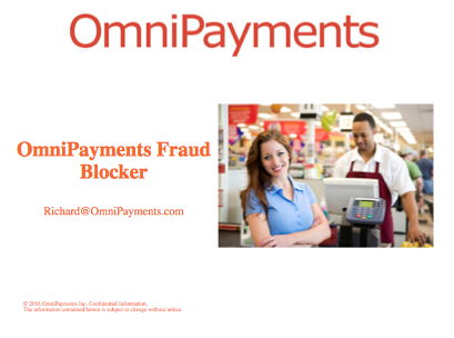 The Fraud Blocker - Richard Buckle, Omnipayments