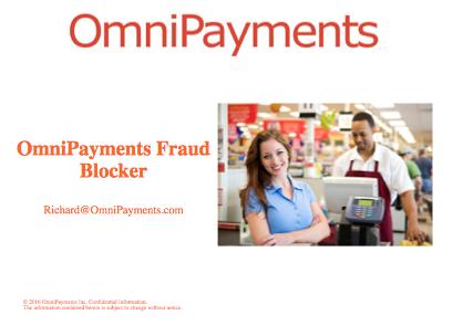 The Fraud Blocker - Richard Buckle, Omnipayments