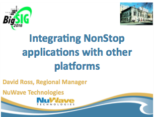 Modernisation of Applications - Dave Ross, NewWave