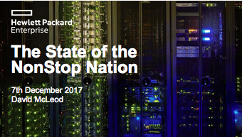 State of the Nation - David McLeod - HPE