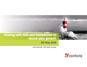 Dealing With Risk And Compliance - John Bycroft - Comforte