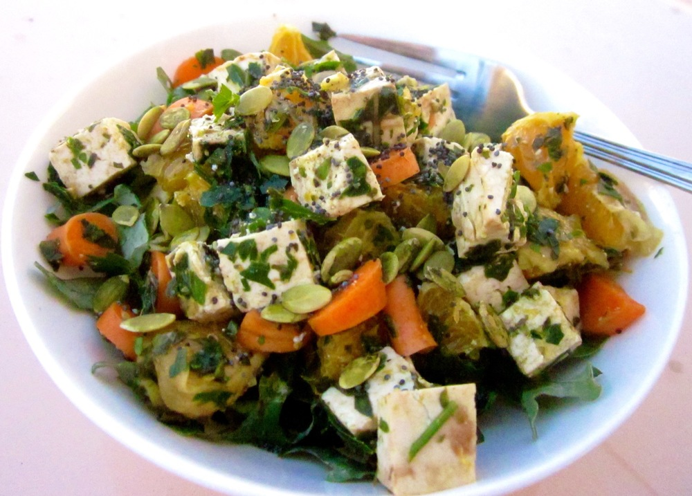 orange tofu kale salad edited resized.JPG