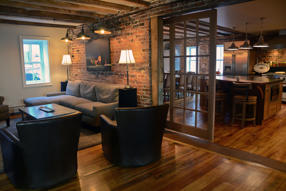 Design & Remodel - Historic Downtown Loft - Portsmouth, NH