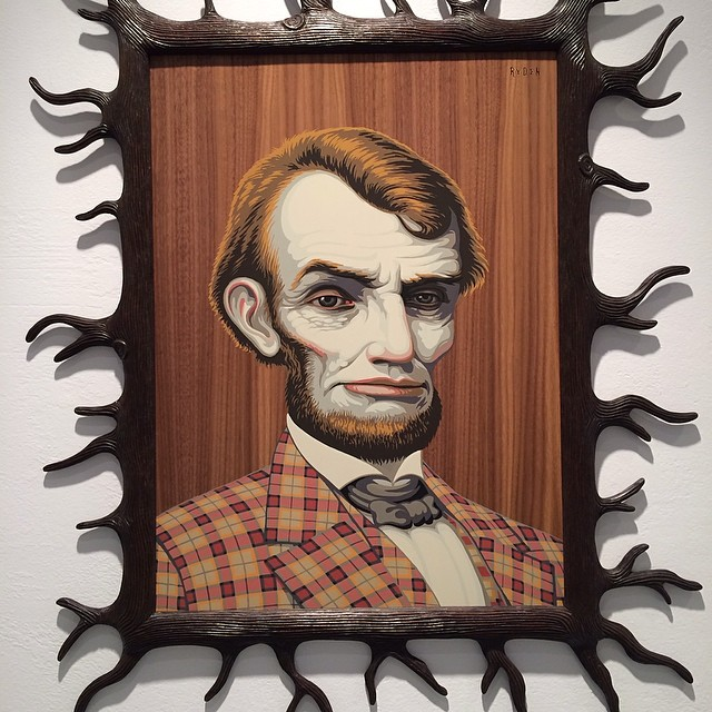 Mark Ryden at Jonathan Levine on 23rd. Quite a scene!