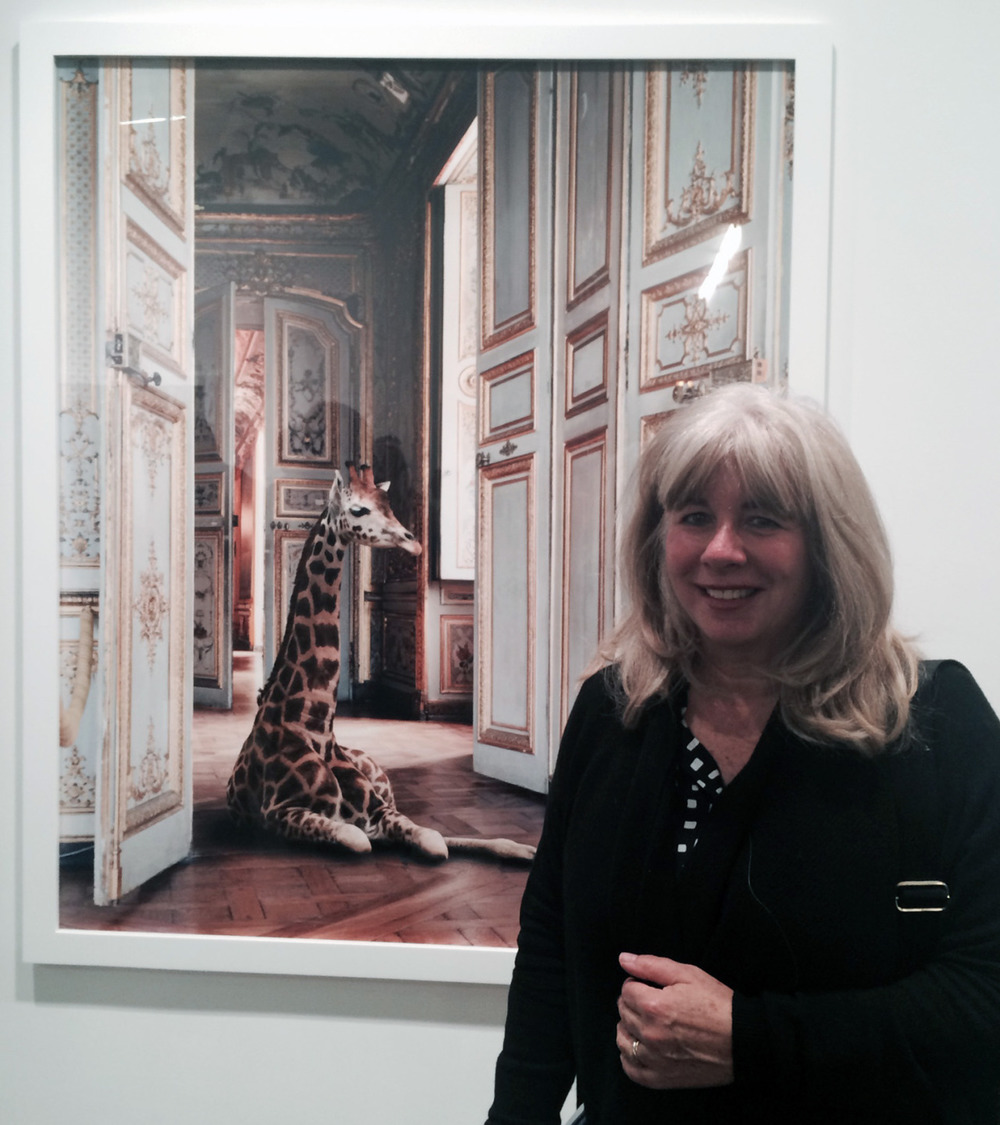 Karen Knorr     Fables & India Song    Danziger Gallery    The artist and her work. Very warm and gentle personality. Great to meet her in person. Her work is a beautiful mix of tantalizing imagery from India. Karen mixes the amazing architecture with exotic animals creating a remarkable tableau that is at the same time warm and a little unsettling. Check it out.     danzigergallery.com     karenknorr.com