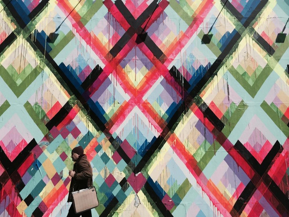 Maya Hayuk Bowery Wall NYC http://www.mayahayuk.com
