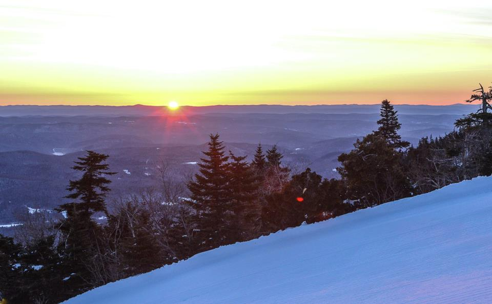 Stratton Mountain Sunrise Service 2013