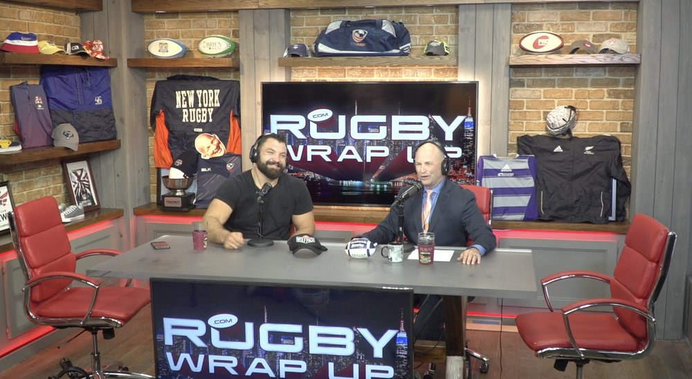 Rugby Wrap Up - Americas leading rugby show. Post production by Jonny