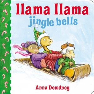 llama jingle bells christmas kids book long enough