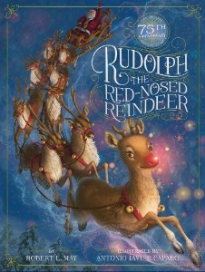 rudolph red nosed reindeer christmas kids book long enough