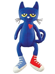 pete the cat plush reading kids gifts book long enough