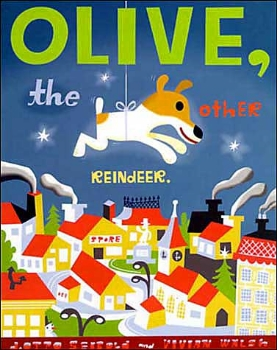 olive the other reindeer christmas holiday kids family book long enough