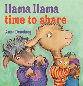 llama llama time to share kids preschool picture books about sharing book long enough