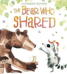 bear who shared preschool kids picture books about sharing