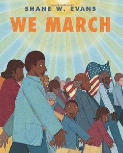 we march everyday civil rights heroes kids book long enough
