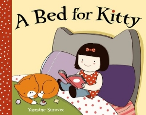 bed for kitty new 2015 picture books kids book long enough