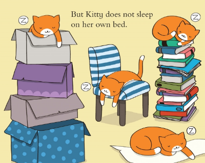 a bed for kitty book long enough
